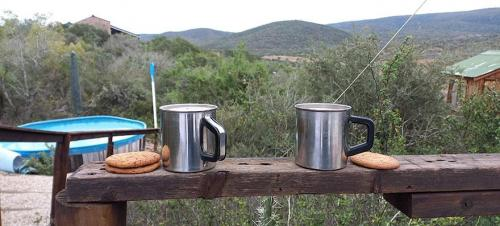 Morning coffee at top Tipi